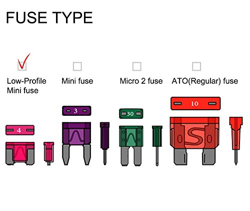 Micro 2 Blade Plug In Automotive Fuse Micro II from 7.5Amp-30Amp - Image 2