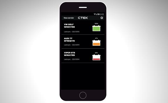 Ctek CTX Battery Sense Check Status Through WiFi - Image 4