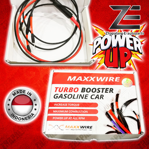 Maxxwire Red Turbo Booster Diesel Car with Accent Wire Power Up Grounding Set(Standard Version)