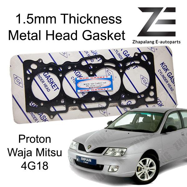 Proton Waja 1.6 Mitsubishi 4G18 Metal Head Gasket(MLS) Thickness 1.5mm
