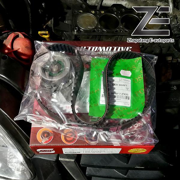Saiko Timing Belt Kit Set with Viton Oil Seals for Hyundai Accent 1.5 Getz 1.3 110S8M22 - Image 2
