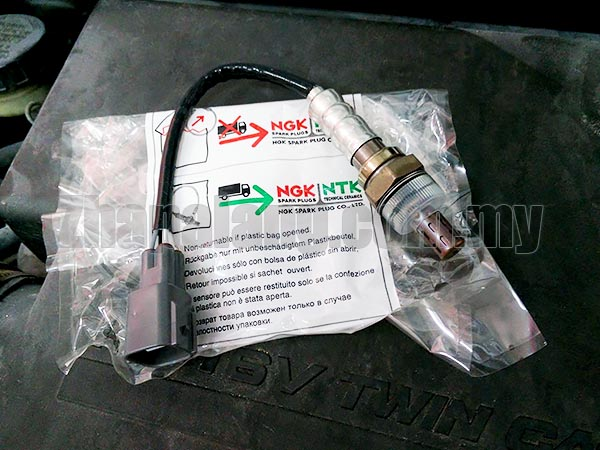 NGK/NTK Oxygen Sensor 4 Pin Wire Socket for Perodua Myvi/Viva