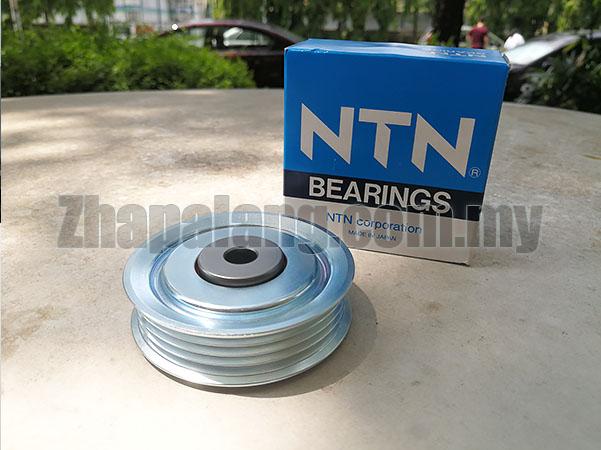 NTN Fan Belt Idler Pulley 4PK for Kembara MYVI DVVT 4PK - Image 1