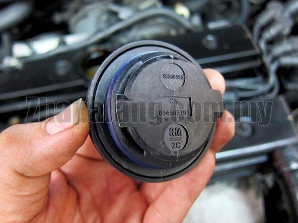 Engine Oil Filler Cap For GM Chevrolet 1.4L 1.6L 1.8L 2008-2013 - Image 2