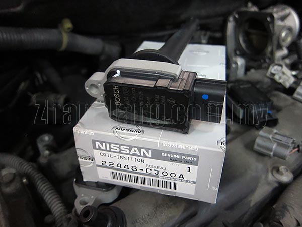 Genuine Nissan 22448-CJ00A, 22448-ED800 Ignition Coil Assy for March /Note /NV200 /Qashqai /Tiida /Latio /X-trail/ Sylphy