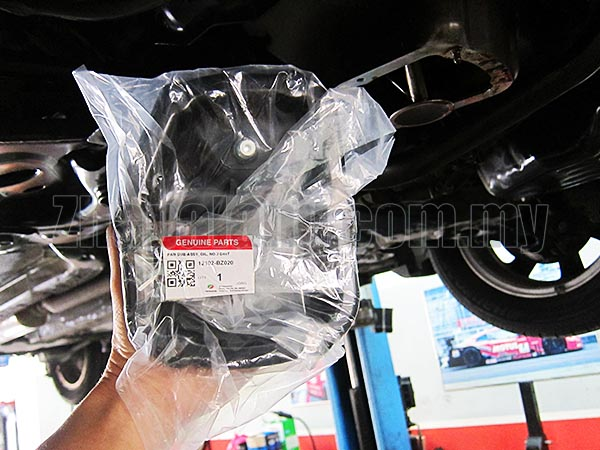 Original Perodua Oil Pan Sub Assy with Nut for Myvi/Alza
