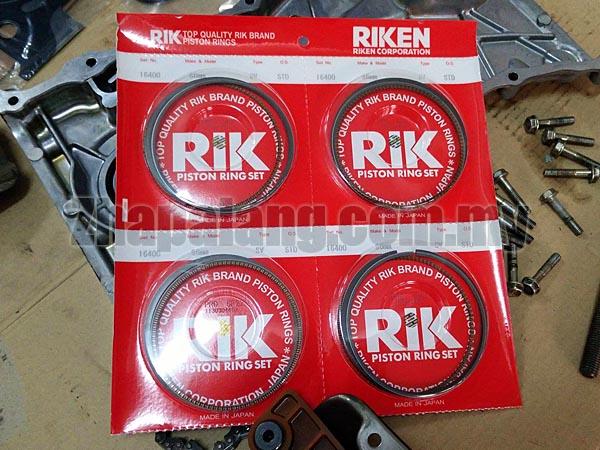 RIK Piston Ring Set 86mm Honda K20A Standard Size