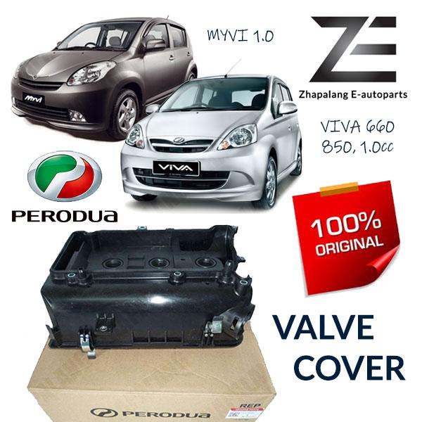 Original Perodua Valve Cover Myvi 1.0, Viva 660, 850, 1.0c 11201-BZ080 Cover Sub Assy, Cylinder Head