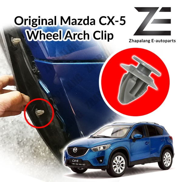 Original Mazda Wheel Arch Moulding Retainer Clip for CX3 CX5 CX9 KD53-51-W24