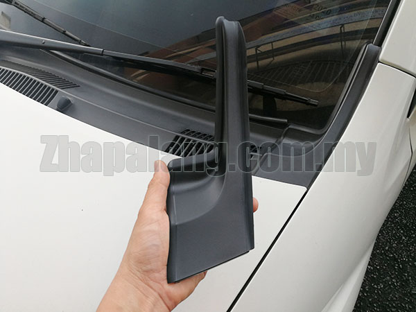 Perodua Myvi Lagi Best/SE Front Windscreen L Shape Fender to Cowl Panel Cover LH - Image 1