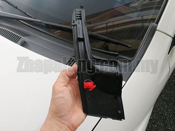 Perodua Myvi Lagi Best/SE Front Windscreen L Shape Fender to Cowl Panel Cover LH - Image 2