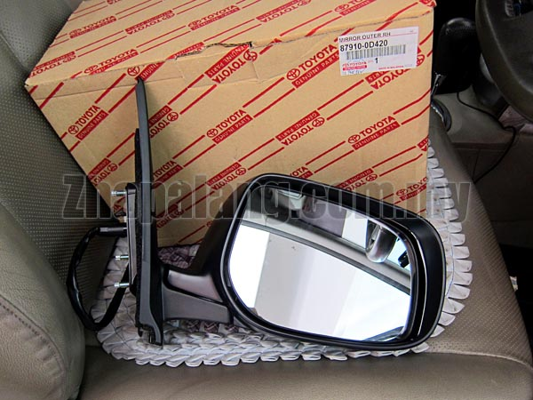 Original Toyota Vios'07 Side Mirror RH(Flip Able) 87910-0D420