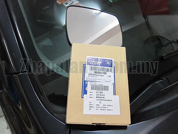 Original Proton Side Mirror Glass RH for Inspira '10-'15