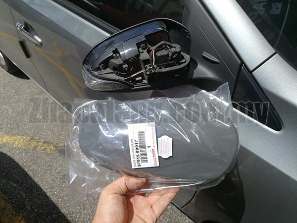 Original Toyota Vios NCP 150 \'14-18 Side Mirror Cover RH