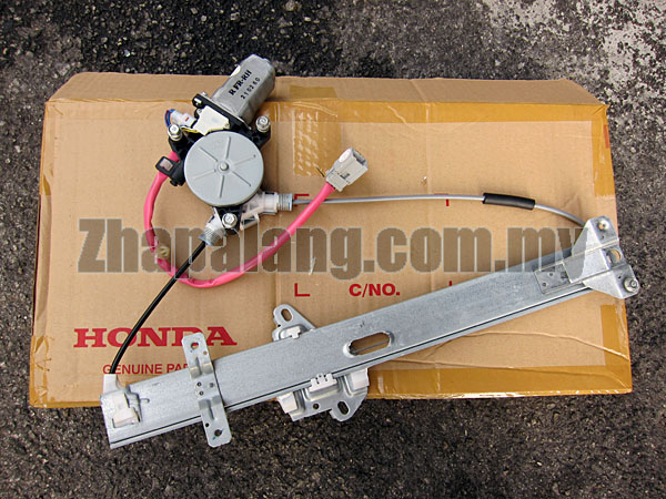 Honda City'03-06(SEL) Front Driver Side Window Regulator with Motor