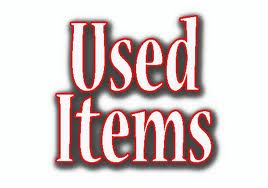 Used Items