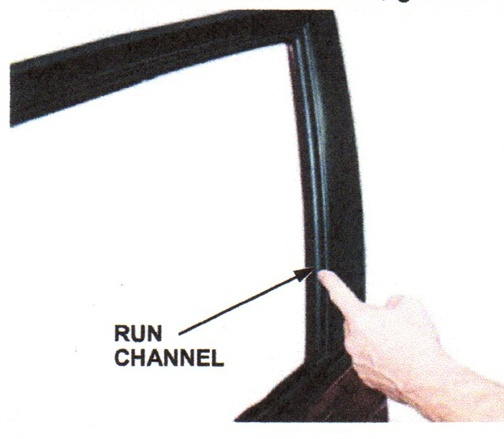 Window Run Channel