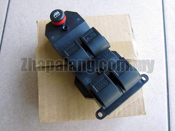 Genuine Power Window Main Switch for Honda City SEL '03-'08(5 Buttons)