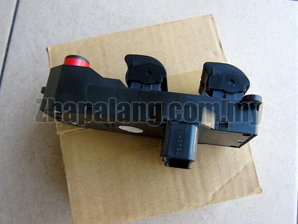 Genuine Power Window Main Switch for Honda City SEL \'03-\'08(5 Buttons) - Image 2