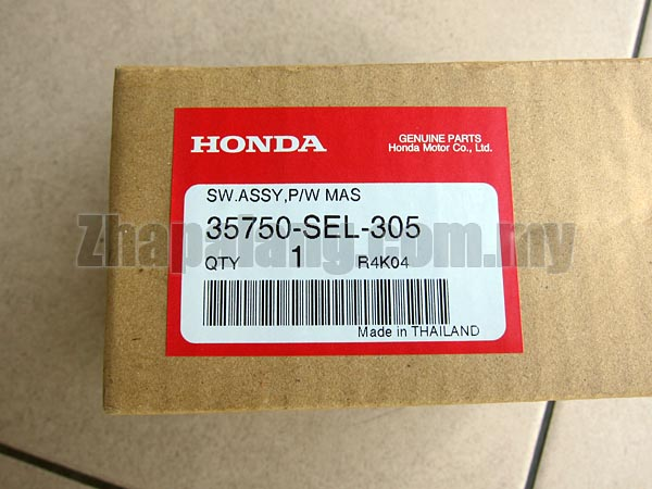 Genuine Power Window Main Switch for Honda City SEL \'03-\'08(5 Buttons) - Image 3