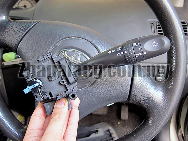 Original Toyota Switch assy, headlamp dimmer with FogLamp for Vios/Corolla