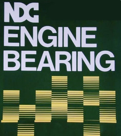 NDC Engine Bearing