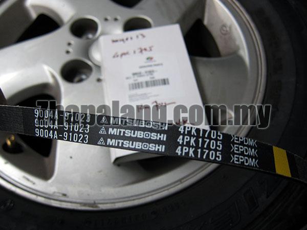 Perodua Original Drive Belt Myvi 1.3