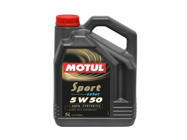 Motul Sport Ester 5W50 100% Fully Synthetic 5L