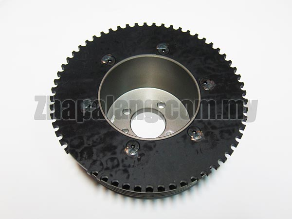 Redline Light Weight Crank Pulley/Lightened Crank Pulley(LCP) for Proton 12V 1.3/1.5 VDO - Image 2