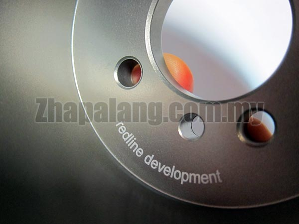 Redline Light Weight Crank Pulley/Lightened Crank Pulley(LCP) for Proton 12V 1.3/1.5 VDO - Image 4