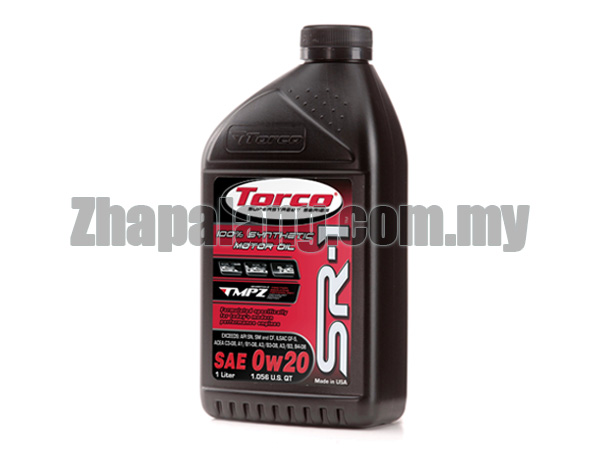 Torco SR-1 0W20 100% Synthetic Oil
