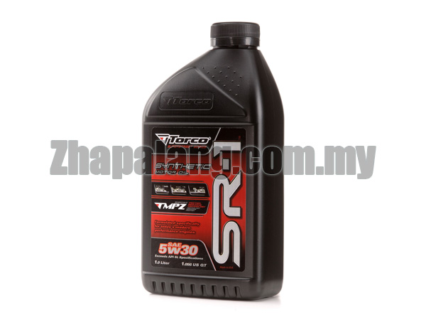 Torco SR-1 5W30 100% Synthetic Oil