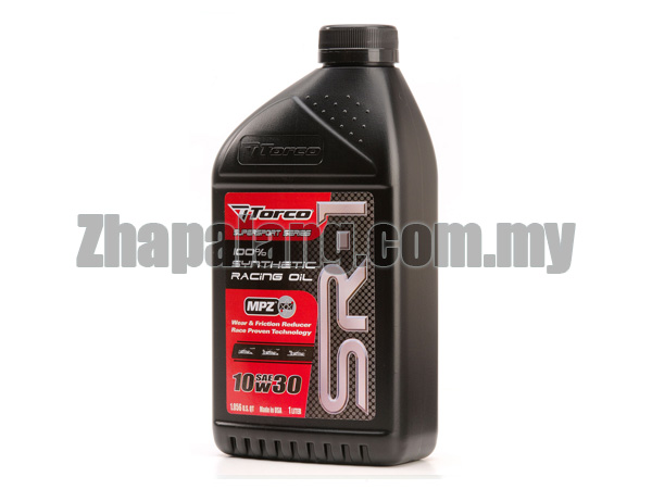 Torco SR-1 10W30 Synthetic Racing Oil