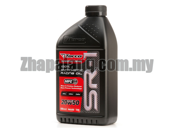 Torco SR-1 20W50 Synthetic Racing Oil