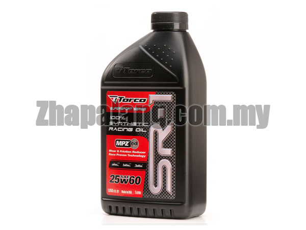 Torco SR-1 25W60 Synthetic Racing Oil