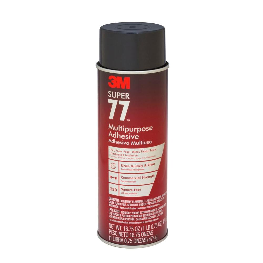 3M™ Super 77™ Multipurpose Spray Adhesive Aerosol 474g