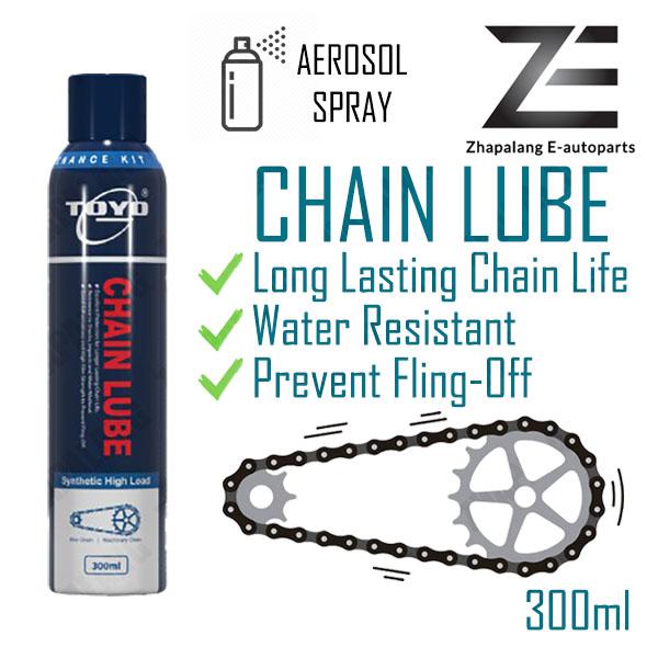 Toyo Chain Lube Aerosol Spray Synthetic Grease 300ml Motorcycle Grab Lalamove