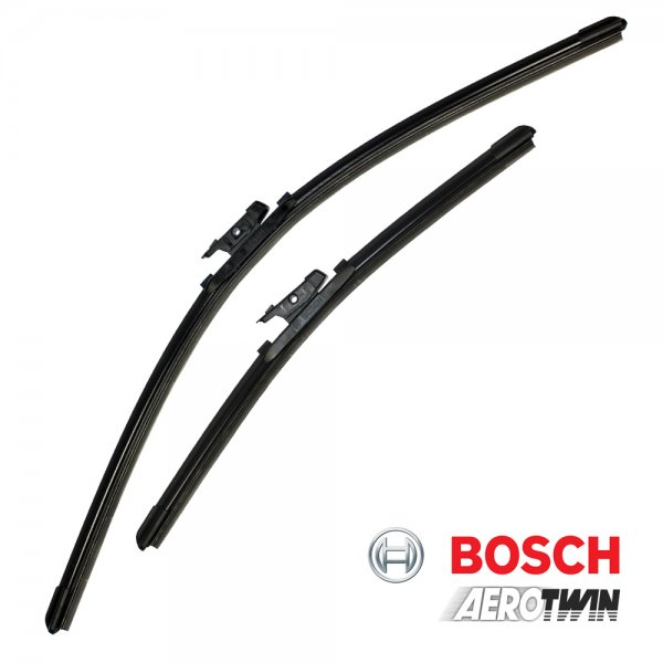 Bosch Aerotwin Flat Front Wiper Blade Set for VW Polo 6R1 (Old) (24''/16')