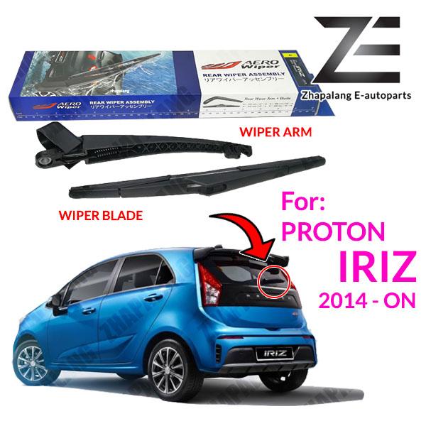 Aero Wiper Rear Wiper Arm and Wiper Blade for Proton Iriz 2014-ON