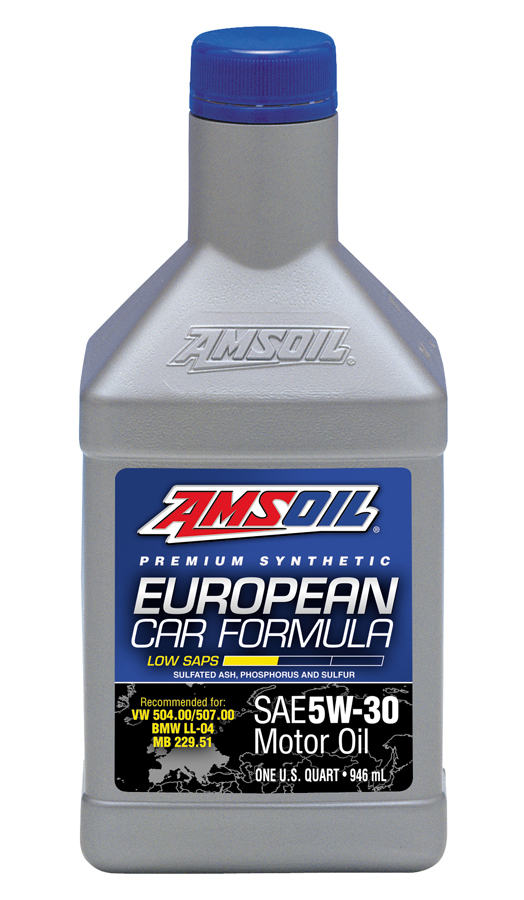 Amsoil European Car Formula 5W30 Low SAPS  100% Synthetic (5L)