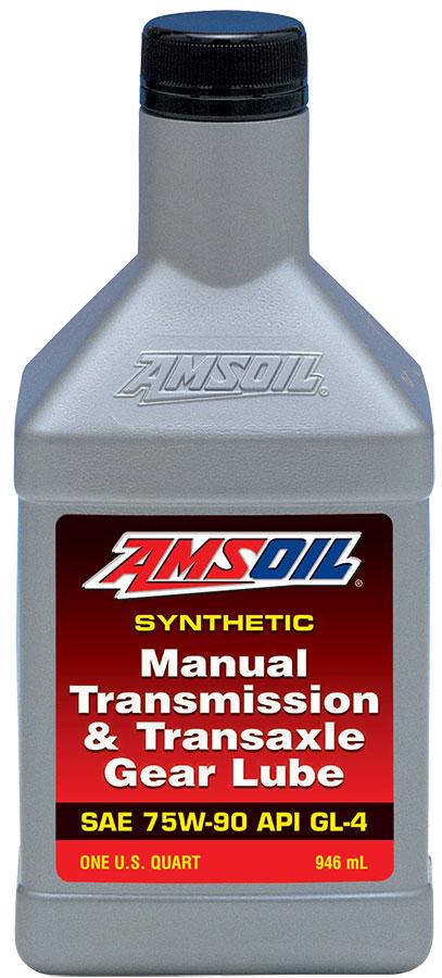 Amsoil Manual Transmission & Transaxle Gear Lube 75W-90 (QT)