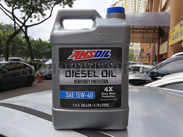Amsoil Heavy-Duty Synthetic Diesel Oil 15W-40 1G