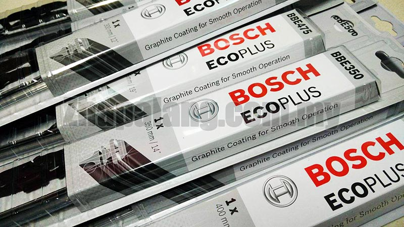 "Bosch 14"" Eco Plus Wiper Blade - Advanced Tropical Rubber Formula with Graphite"