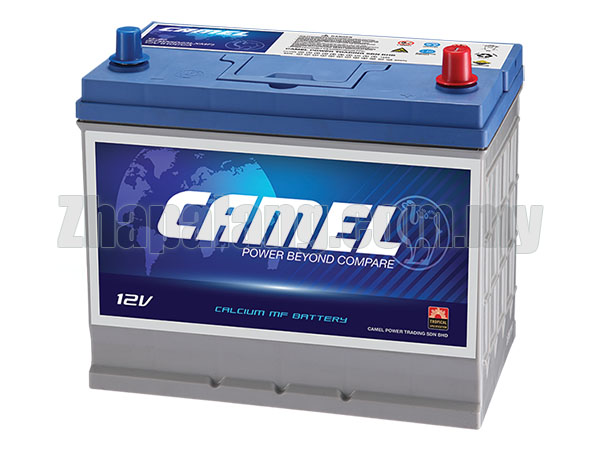 Camel 55D23R MF Car Battery (80D23R) CCA 680 High Power