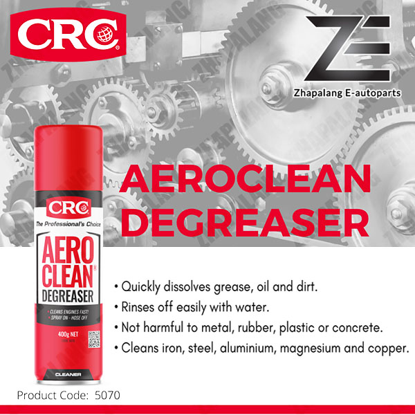 CRC AEROCLEAN Engine Degreaser 400g Nett (Aero Clean Cleaning and Degreasing)