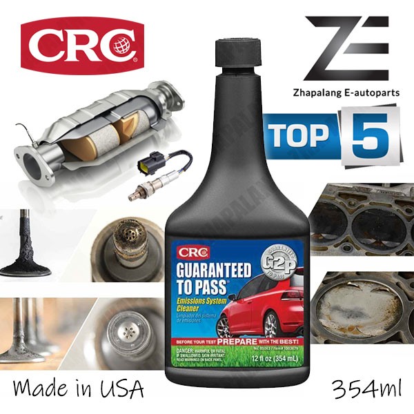 CRC Guaranteed To Pass® Emissions System Cleaner 354ml G2P, Oxicat, S1 Fuel, Cataclean