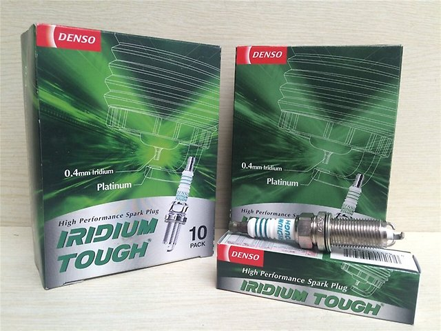 Denso Iridium Tough Spark Plugs VFKH20 for Toyota GR-Engine V6 2,3,4GRFE/Hyundai Genesis/Subaru Imprezza GE2,3/GH2,3