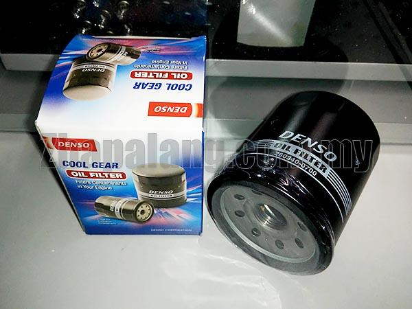 Denso Cool Gear Oil Filter M20x1.5 for Honda/Nissan/Proton/Mitsubishi/Mazda/Subaru/Kia/Hyundai