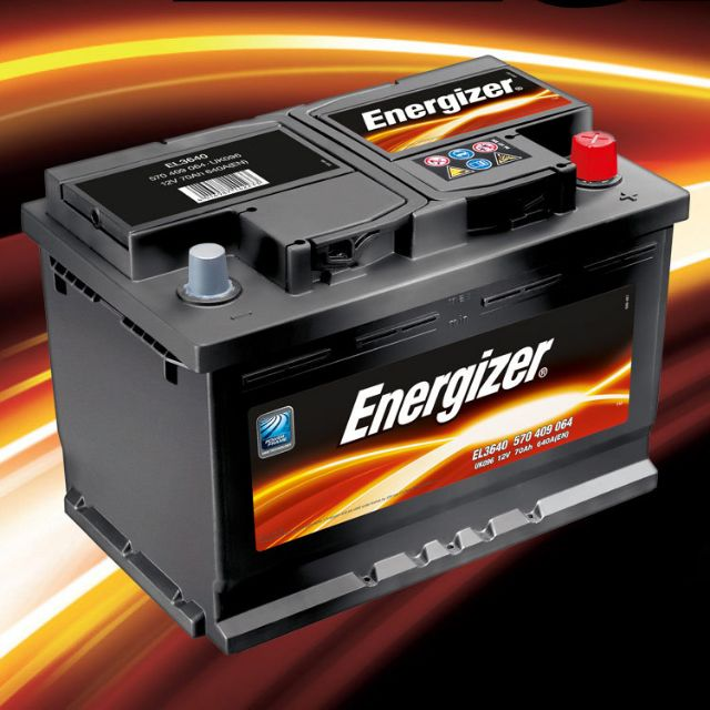 Energizer Car Battery 55D23L(Standard) 550CCA