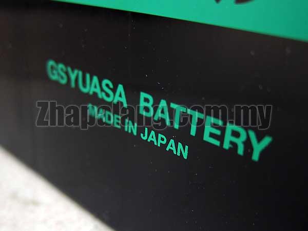 GS Yuasa NX120-7R ECO R Battery (Made in Japan) - Image 2